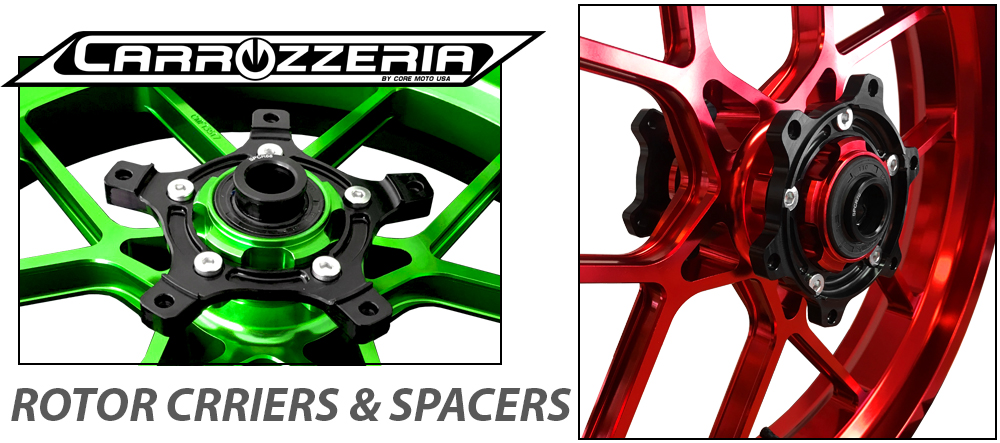 Carrozzeria Track Forged Wheels Suzuki GSXR600 | GSXR750 2011-2018