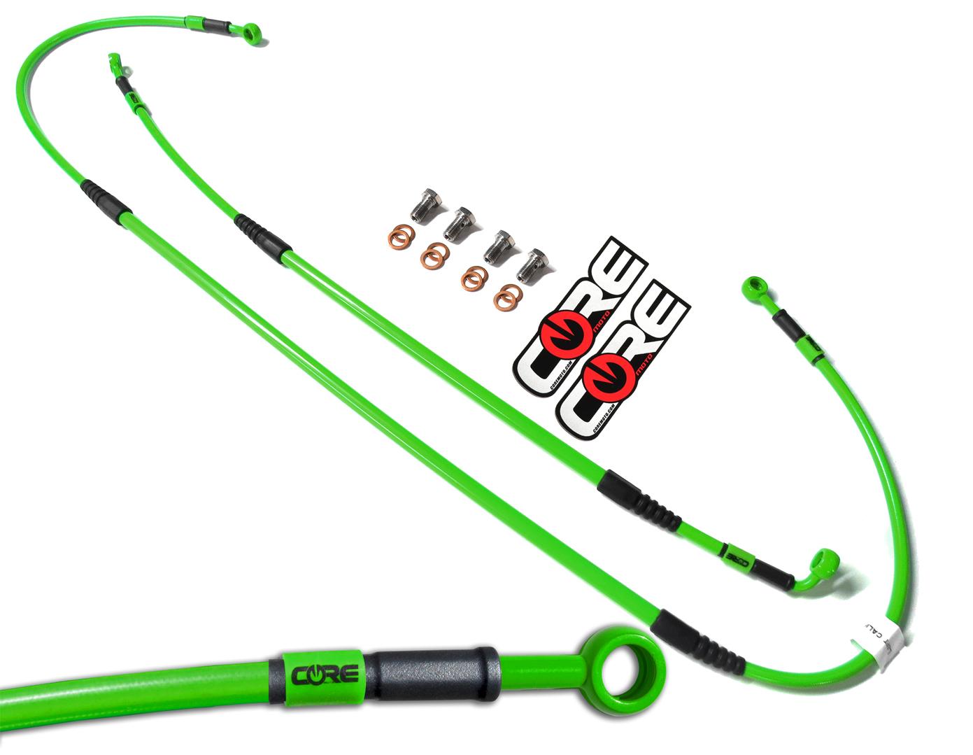 Core Moto CR0025 MX Rear Brake Line Kit