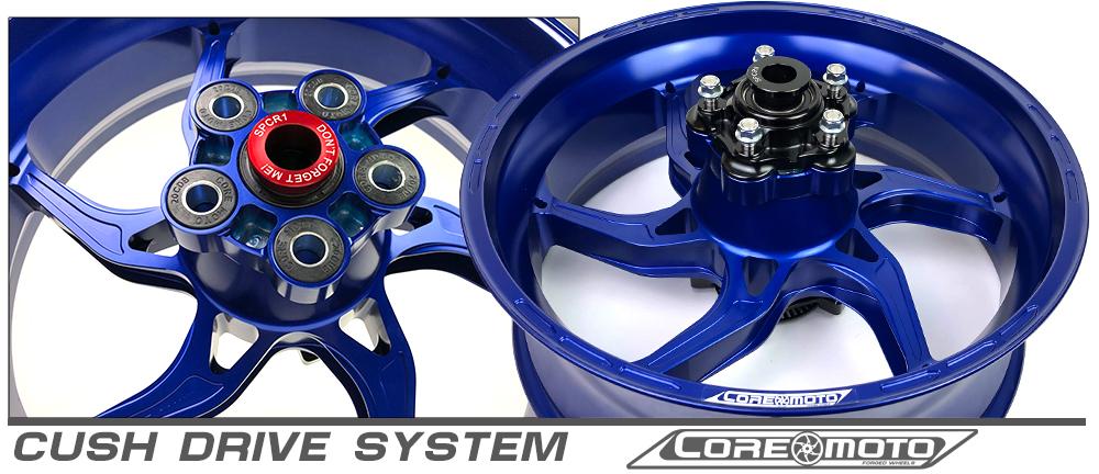 Apex-6 Suzuki GSXR1300 Hayabusa ABS 2013-2019 Forged Core Moto wheels